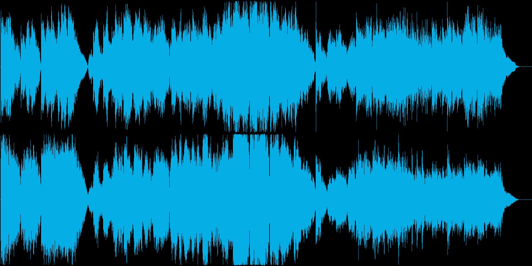 映像にオススメの切ないシーンに似合う曲の再生済みの波形