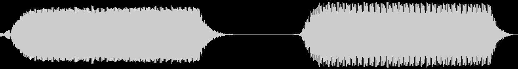 携帯電話のバイブレーションの未再生の波形