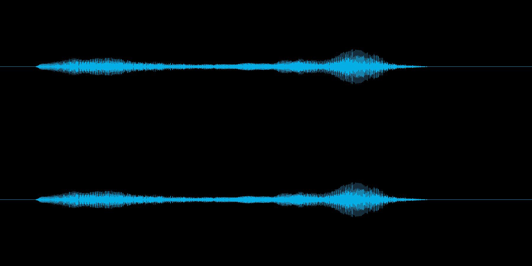 ニャー_猫声-30の再生済みの波形