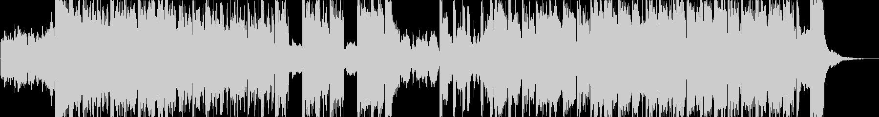 コミカルで音が強烈なハロウィンの未再生の波形