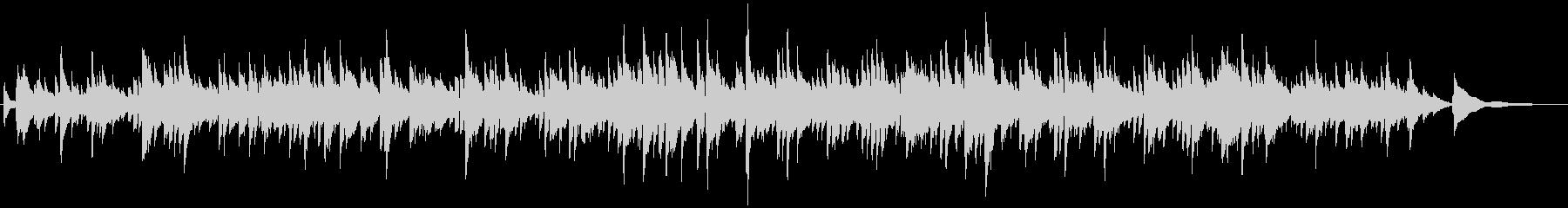 ギターデュオの生演奏による切ないバラードの未再生の波形