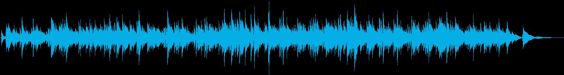 ギターデュオの生演奏による切ないバラードの再生済みの波形