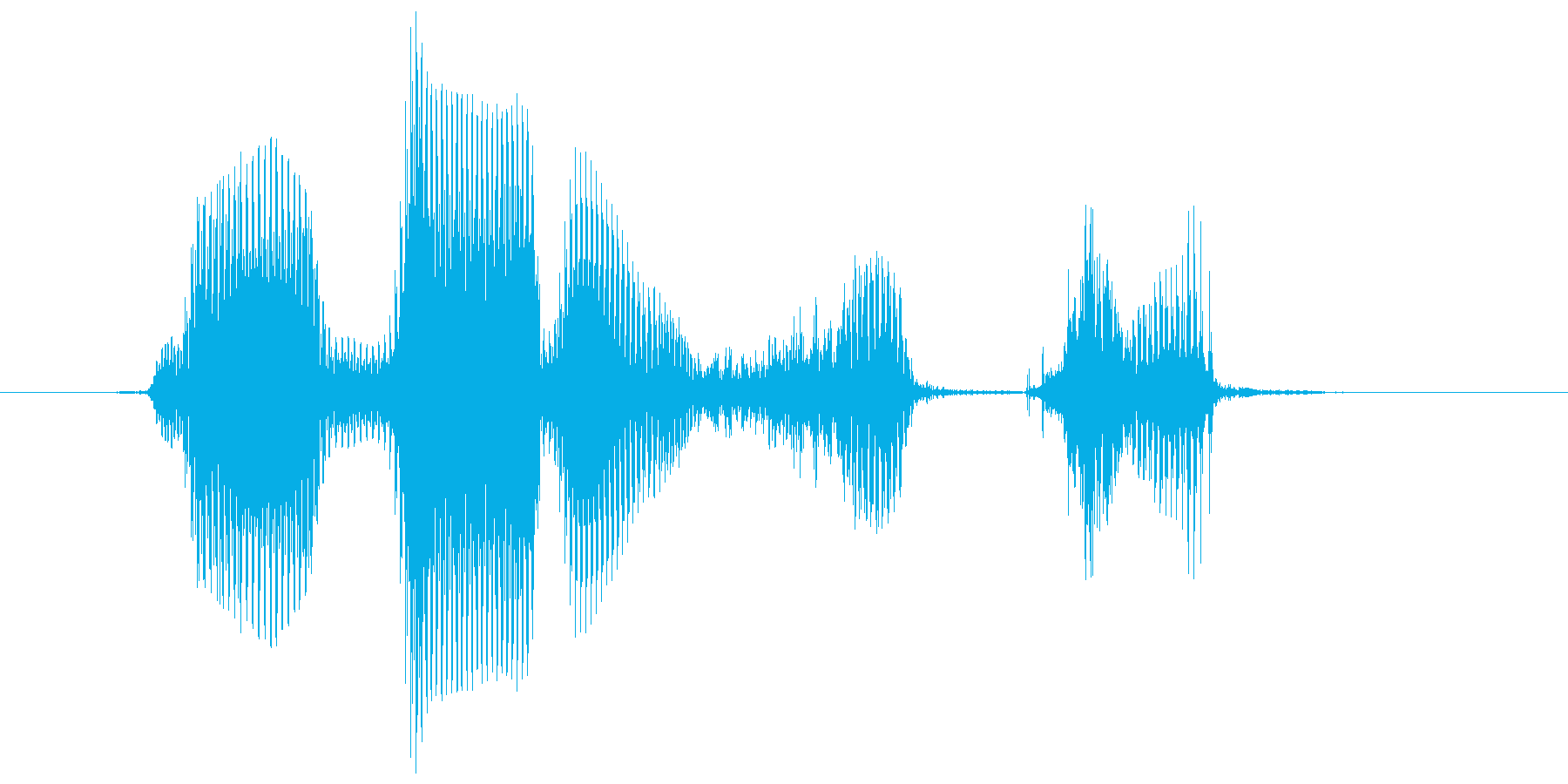 レベル8(はち)の再生済みの波形