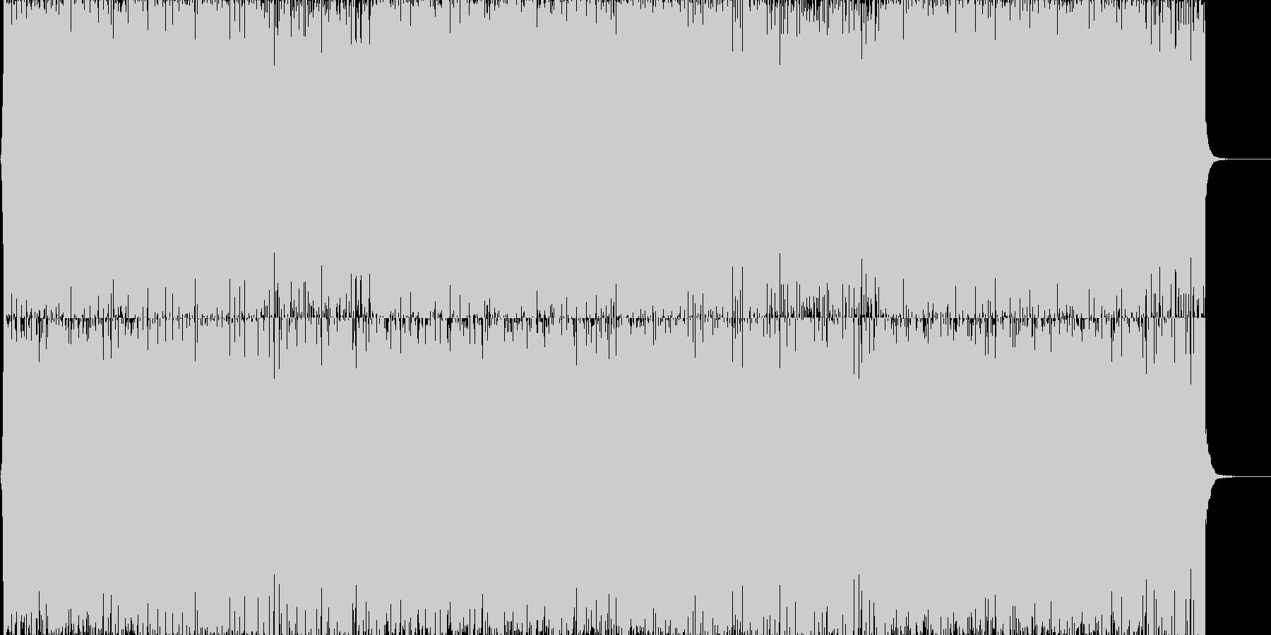 通常戦闘ドラムンベースの未再生の波形