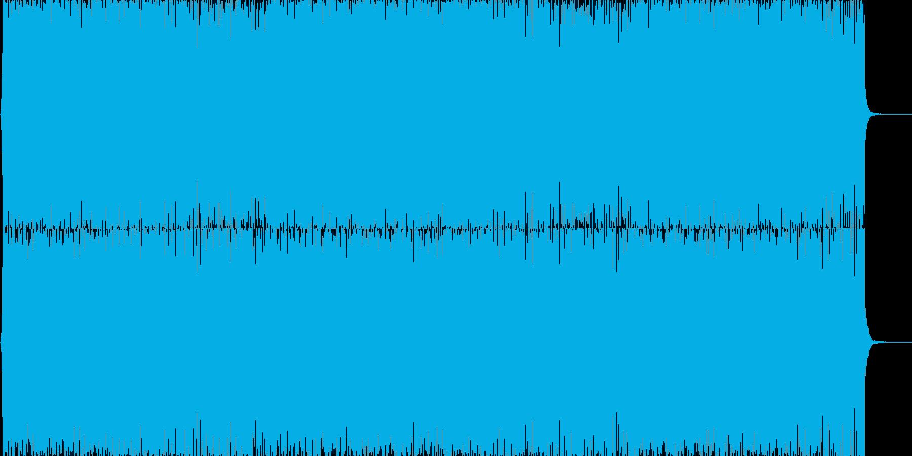 通常戦闘ドラムンベースの再生済みの波形