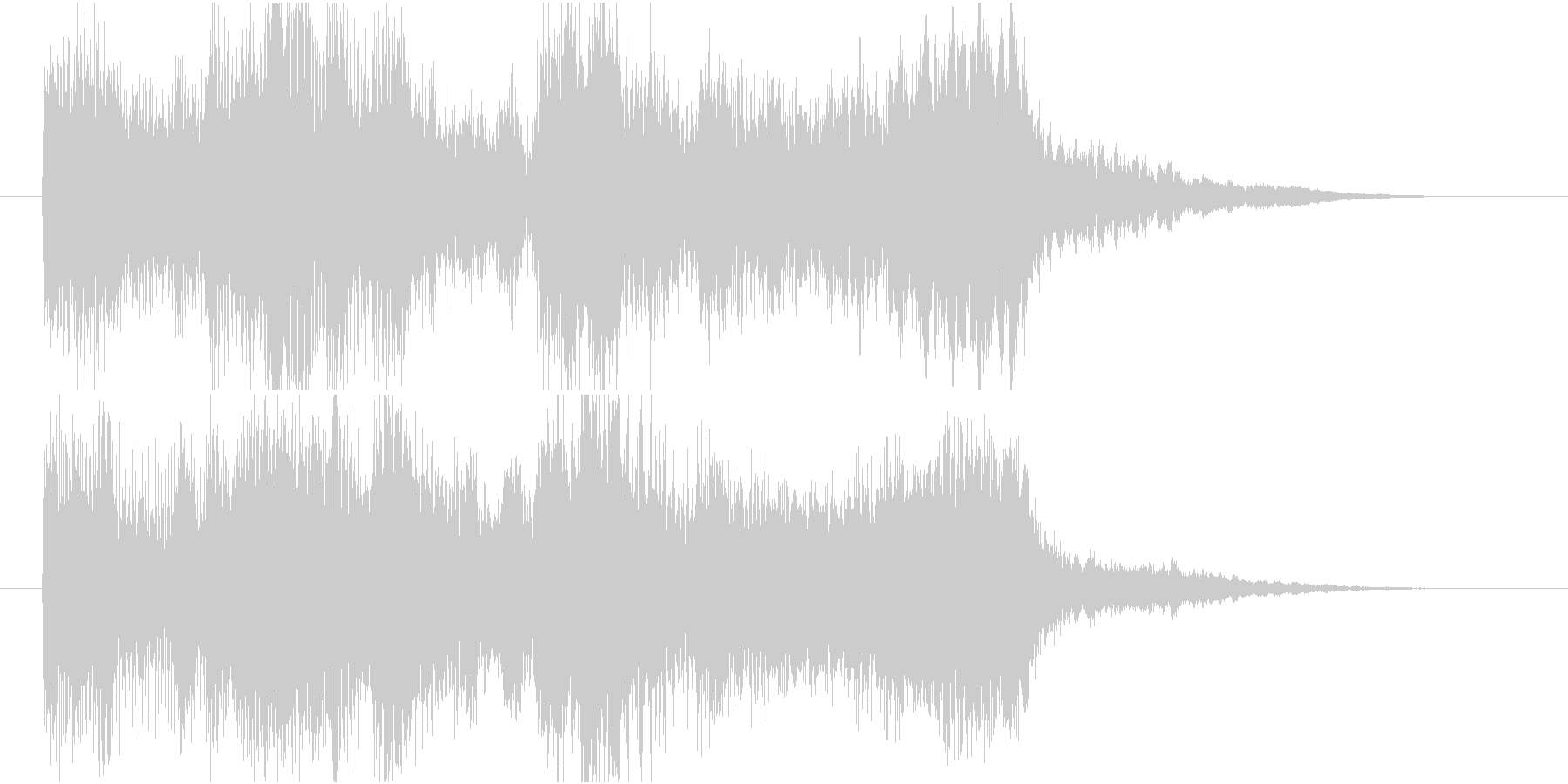 【ジングル】弦楽四重奏とピアノで爽やかの未再生の波形