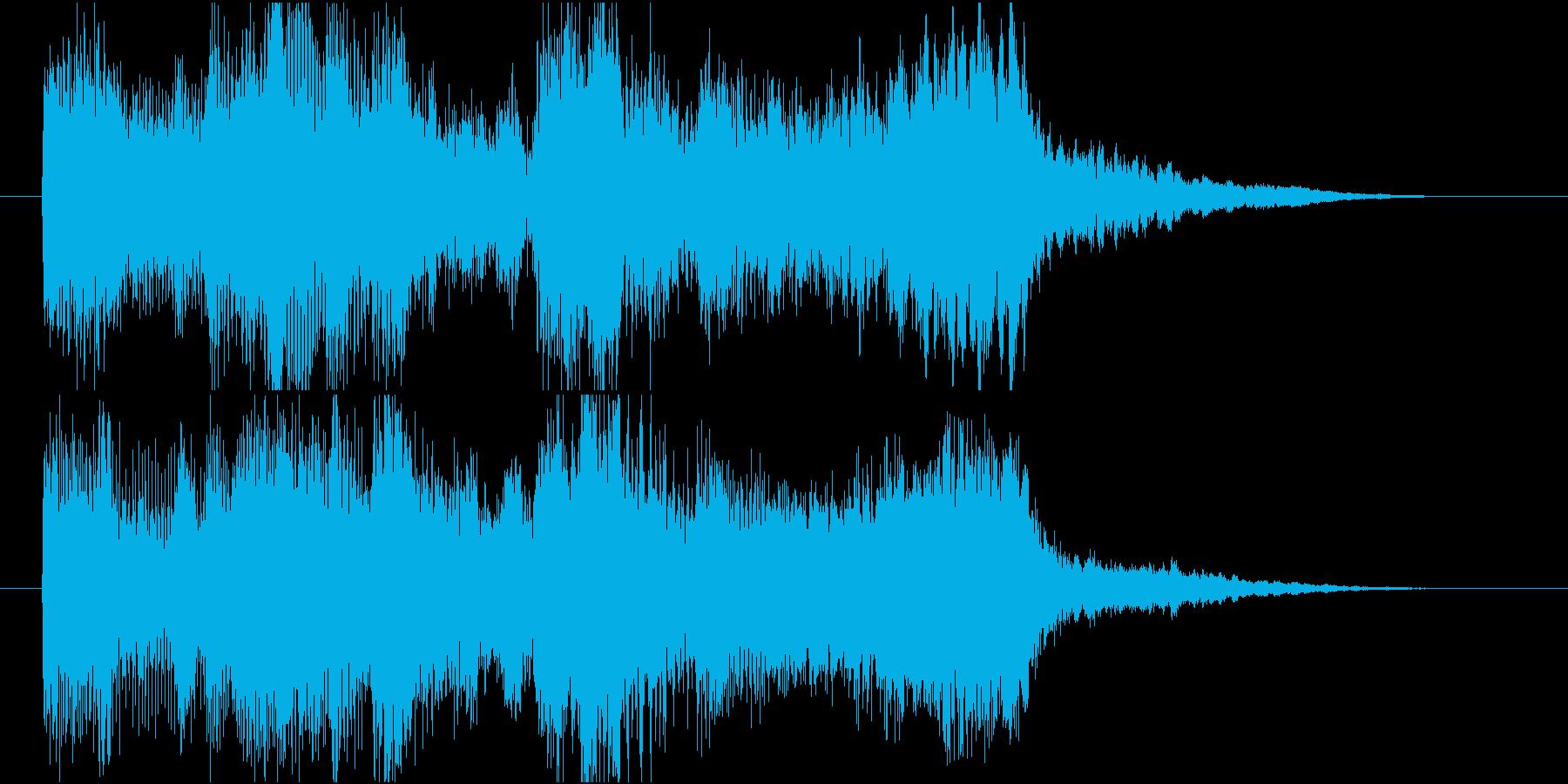 【ジングル】弦楽四重奏とピアノで爽やかの再生済みの波形