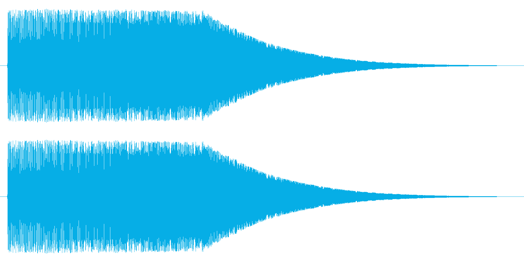 上昇/パワーアップ/強化の再生済みの波形