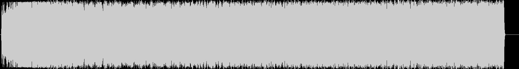 SFチックな大きな機械の起動音の未再生の波形