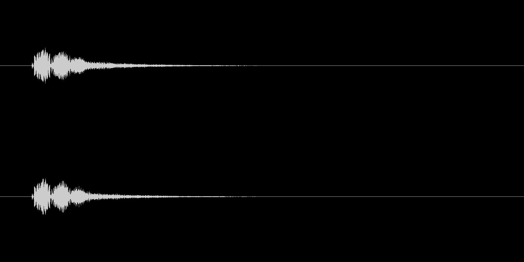 【サイバー19-2】の未再生の波形