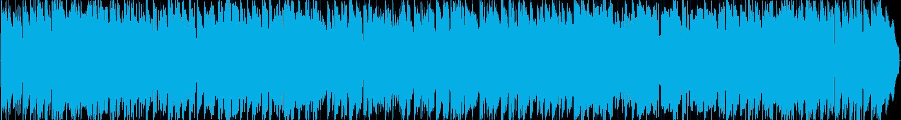 夏の海辺のラジオ音楽のようなBGM。の再生済みの波形