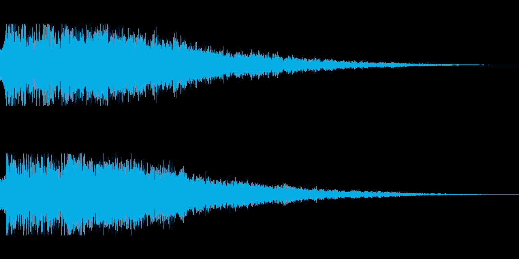 [キュピーン]パラメータUP(華やか)の再生済みの波形