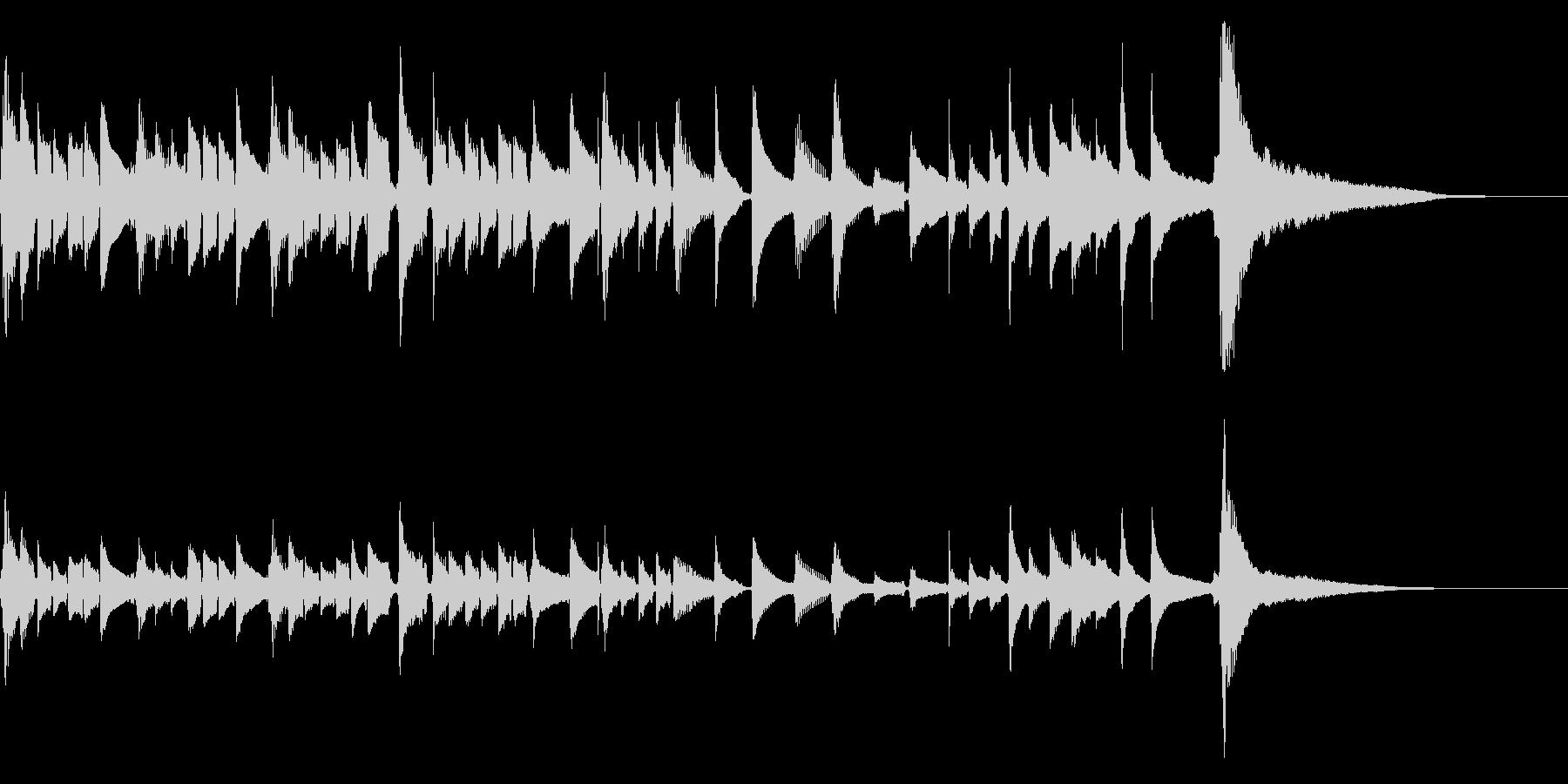 爽やかなアコギのソロ2【生演奏】の未再生の波形