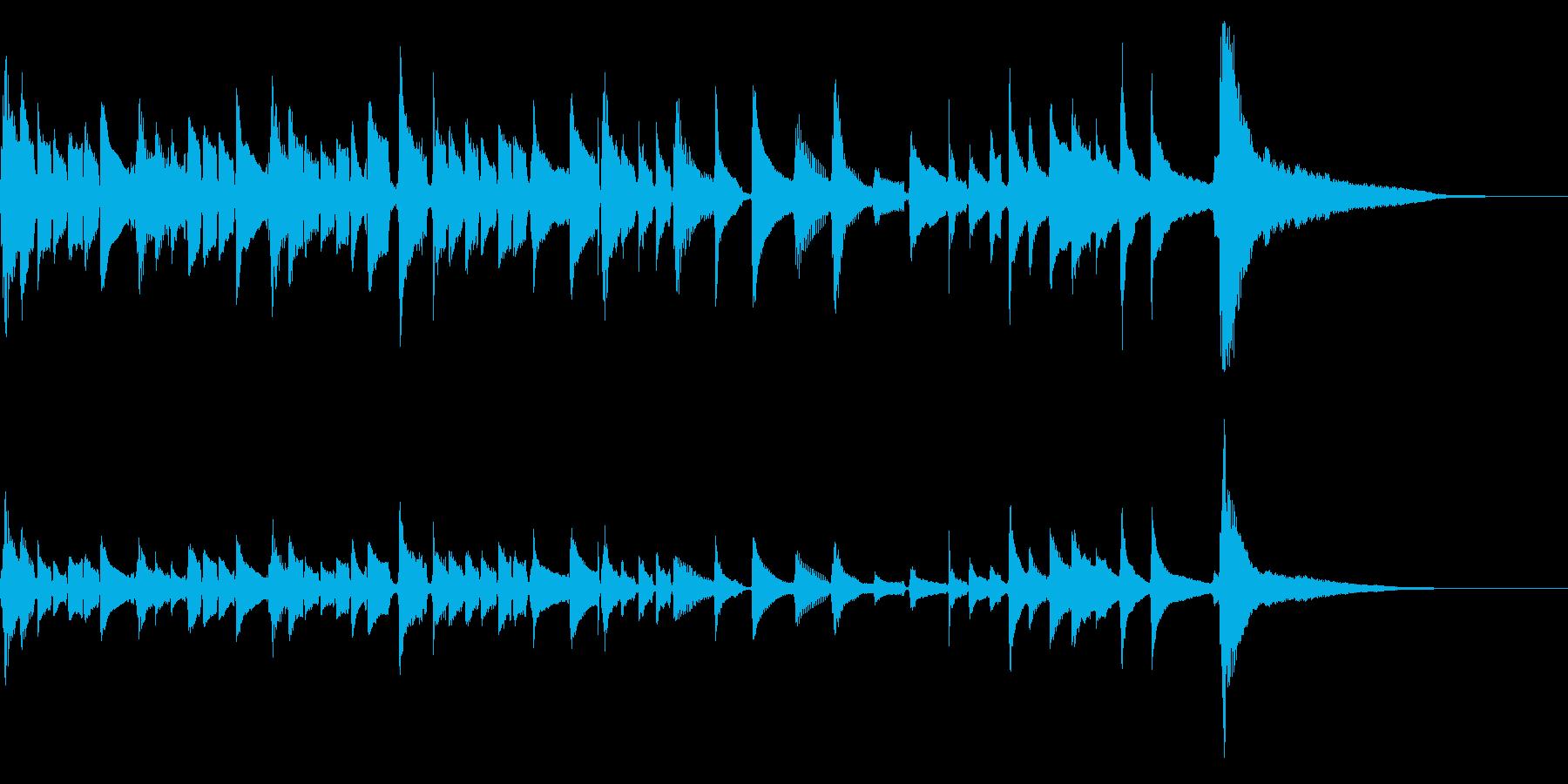 爽やかなアコギのソロ2【生演奏】の再生済みの波形