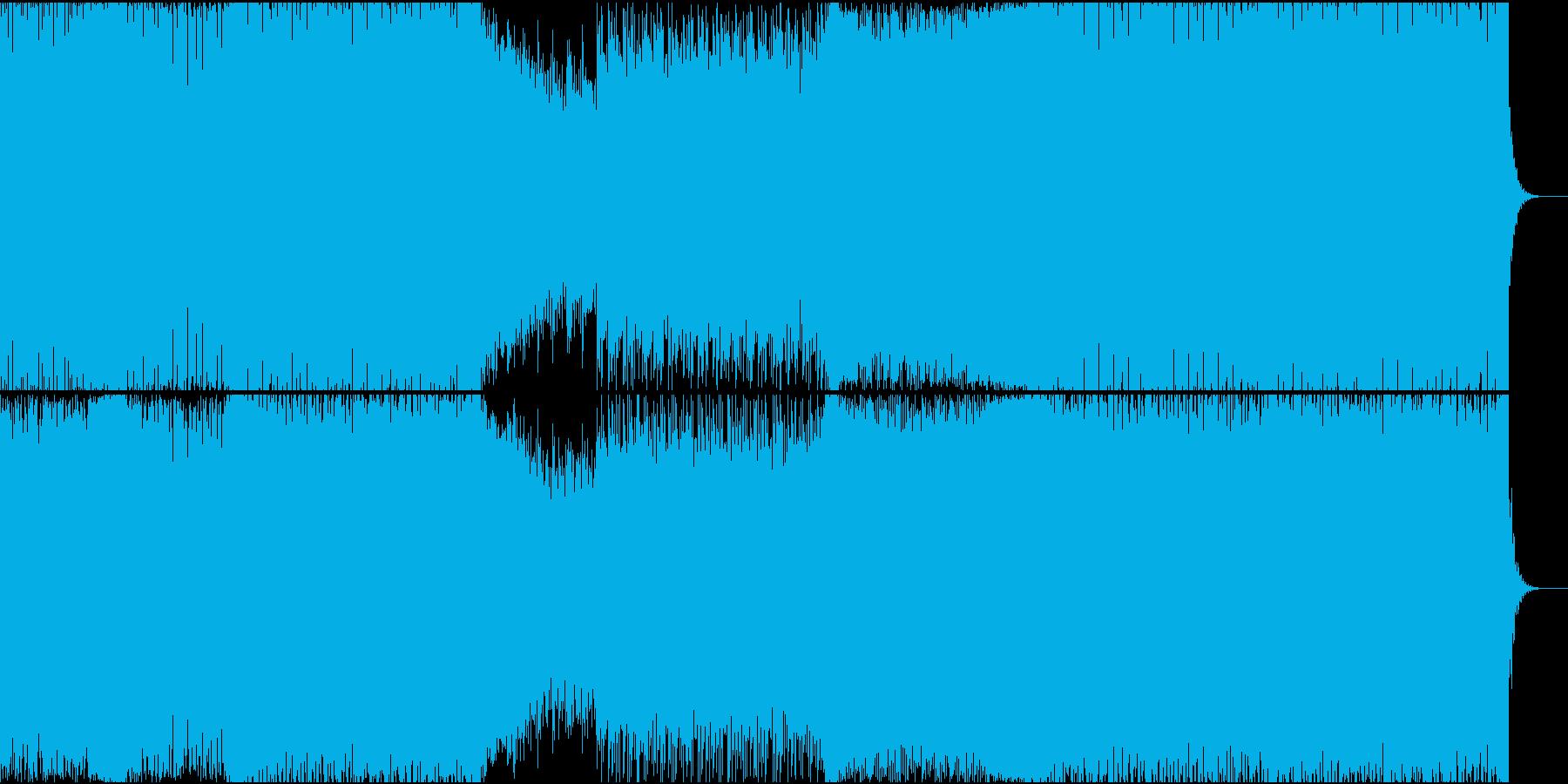 EDM/明るいダンスミュージックですの再生済みの波形