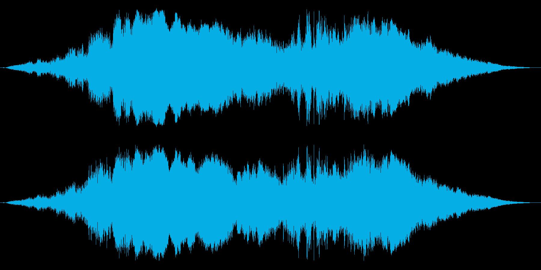 ド迫力のレース/車のエンジン効果音!3の再生済みの波形