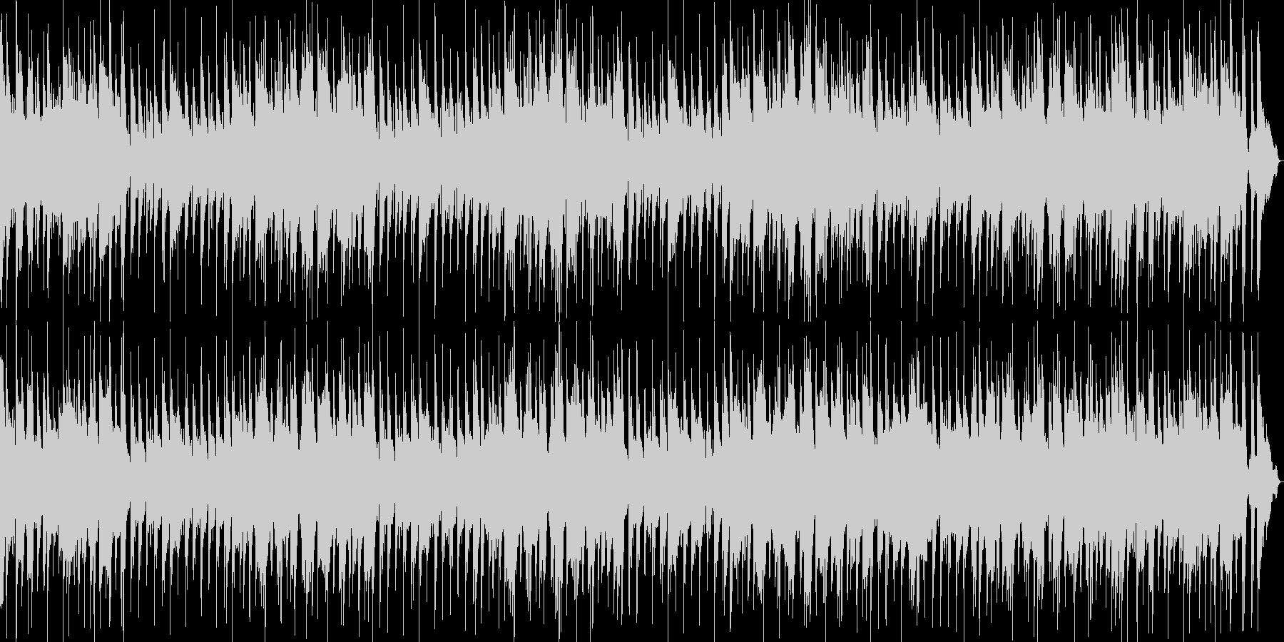 映像や企業VPピアノボサノバストリングスの未再生の波形