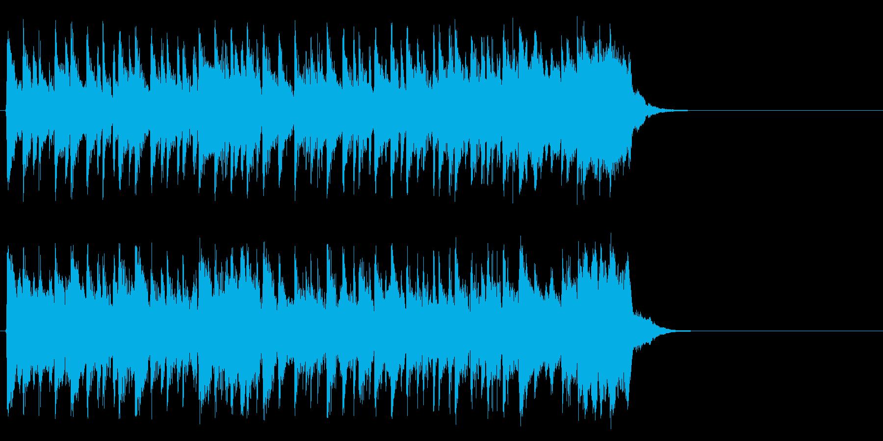 心弾む可愛らしいポップ(サビ)の再生済みの波形