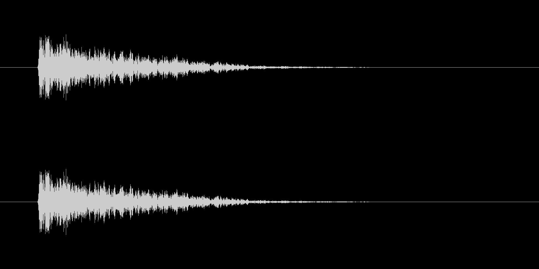 【ネガティブ02-1】の未再生の波形