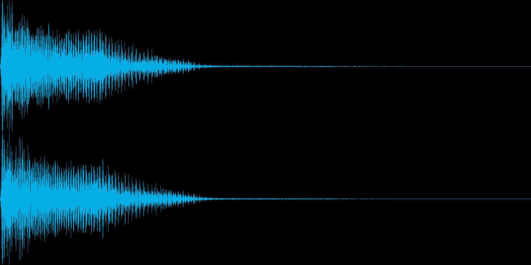 InvaderBuzz 発砲音 23の再生済みの波形
