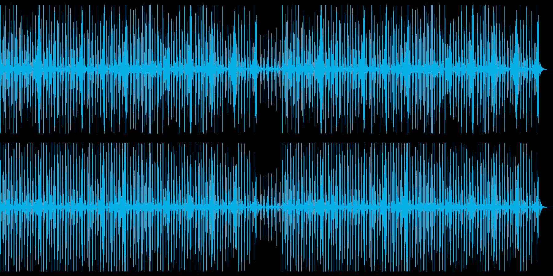ラッパの行進曲ですの再生済みの波形