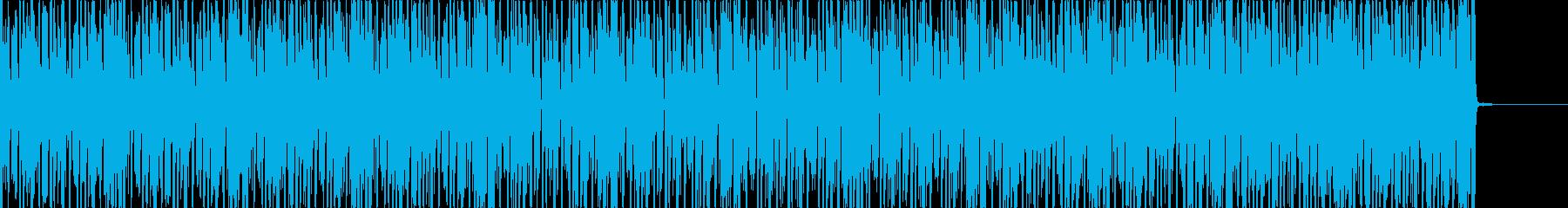 グルービーなビートに不思議なメロの再生済みの波形