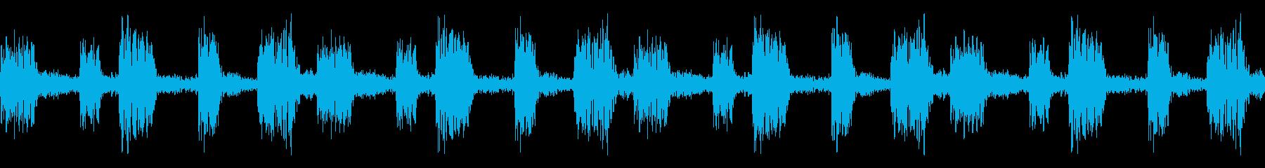 House コードシンセ 1 音楽制作用の再生済みの波形