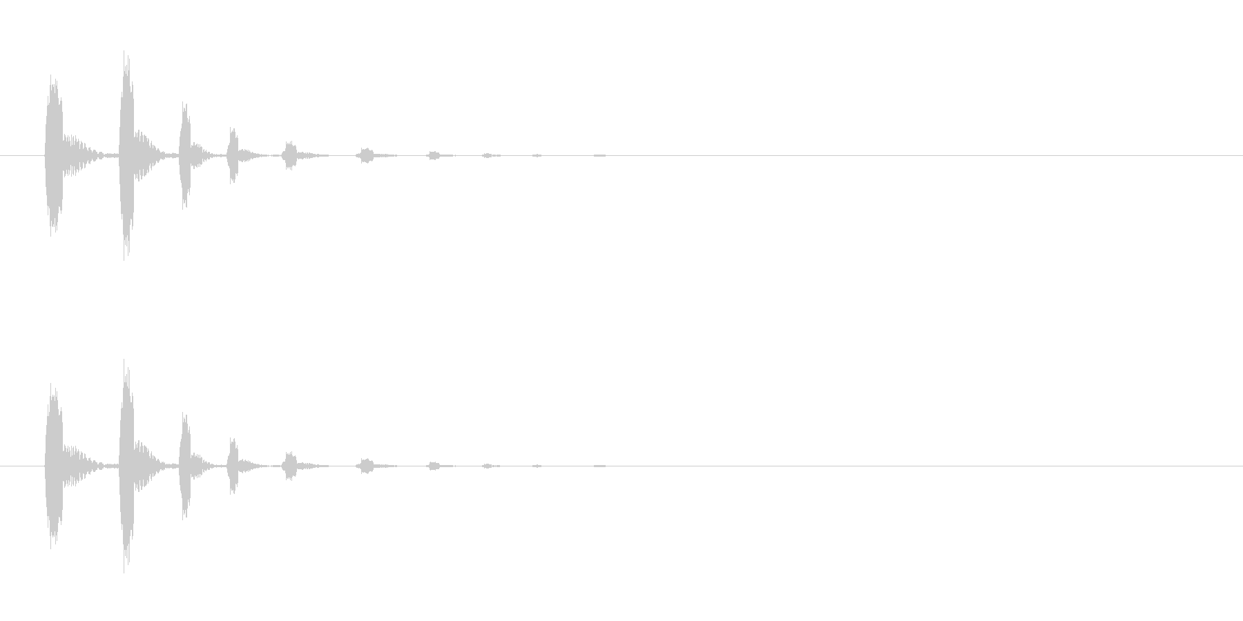 【びっくり04-3】の未再生の波形
