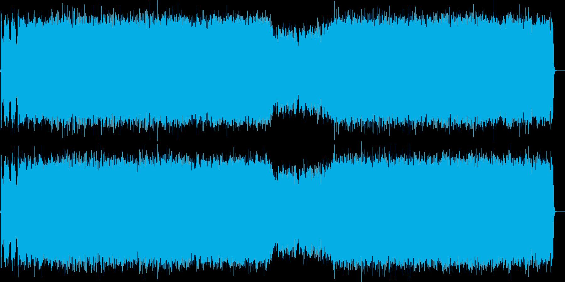 たくましいリフ、そして優しいメロディー…の再生済みの波形