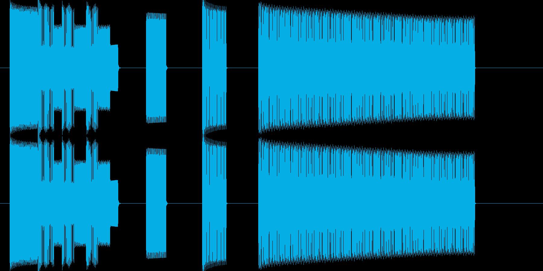 レベルアップ_8bit_ドラクエ風の再生済みの波形