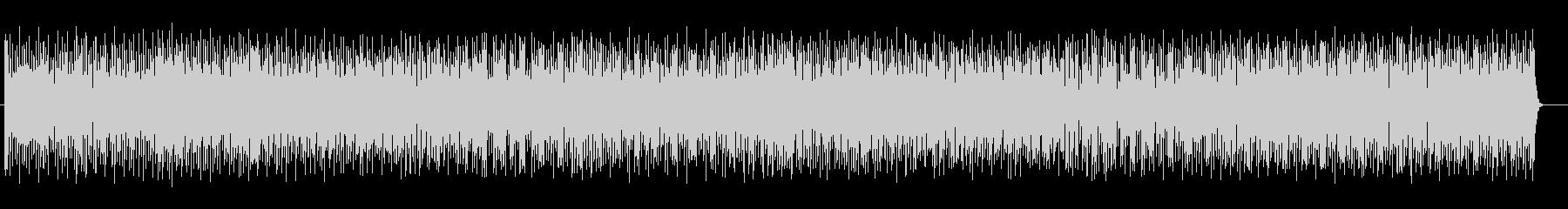 可愛いリズムを刻むジャジーなポップロックの未再生の波形