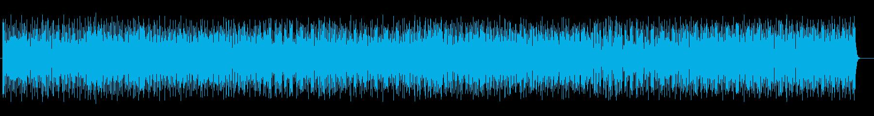 可愛いリズムを刻むジャジーなポップロックの再生済みの波形