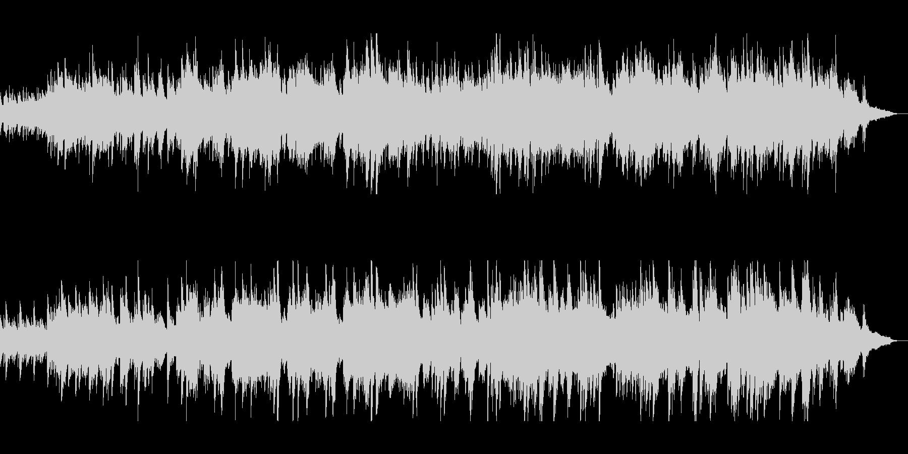 優しい音色のピアノの調べの未再生の波形