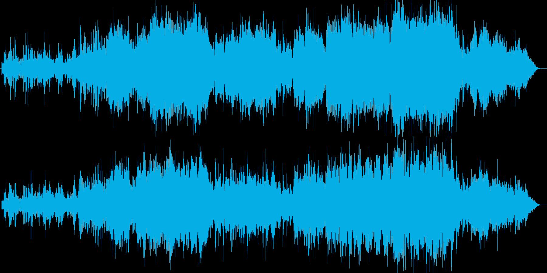 エレガントでノスタルジックなポップスの再生済みの波形