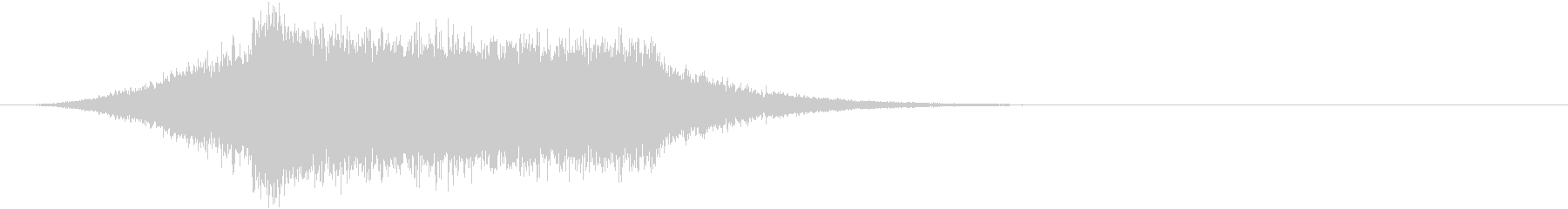 シュルルキーン 移動 魔法 ロゴの未再生の波形