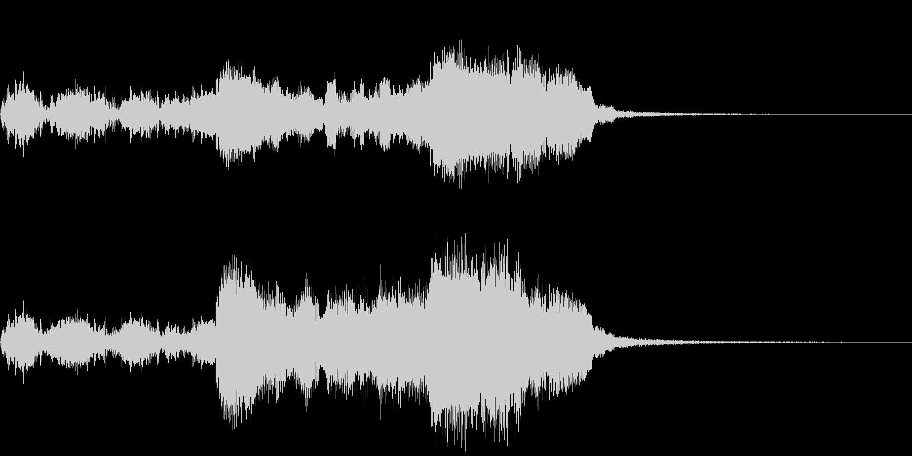 ティンパニロールと金管楽器~結果発表~の未再生の波形