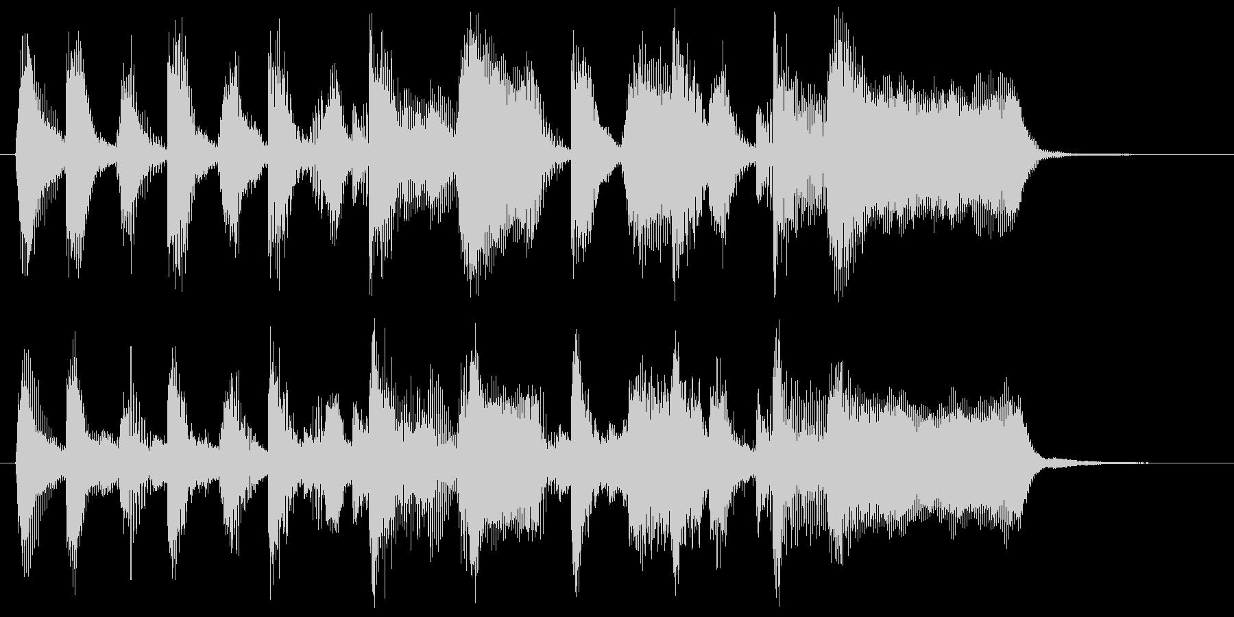 ハートフルなブラス&サックスのロゴ♪の未再生の波形