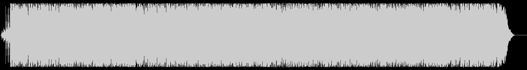 レトロでシャッフル系のアコギ、ポップスの未再生の波形
