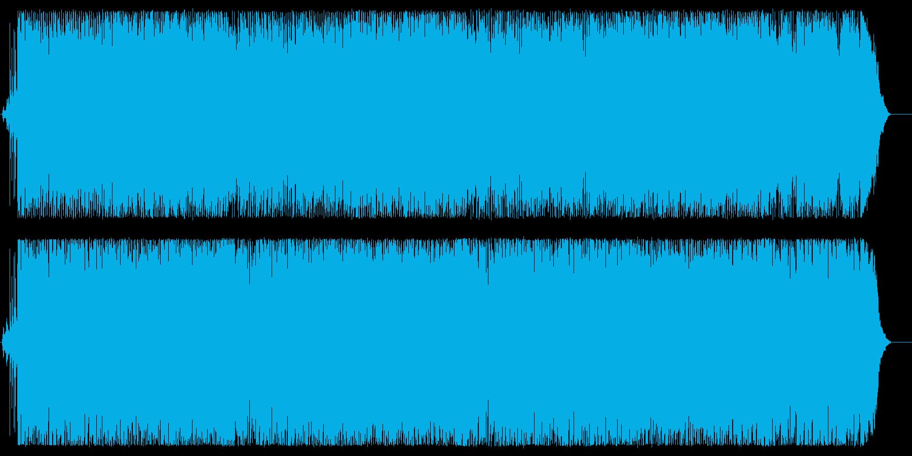 レトロでシャッフル系のアコギ、ポップスの再生済みの波形