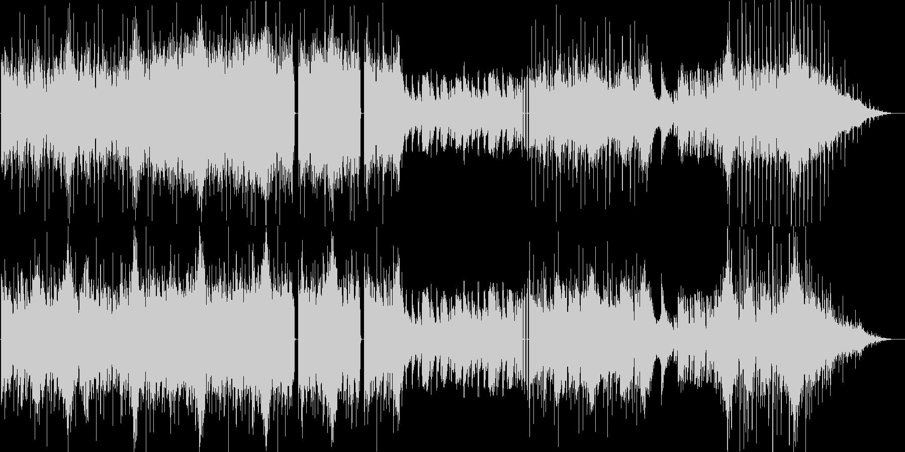 リズム系メインの炎属性ボス曲。ループ有の未再生の波形