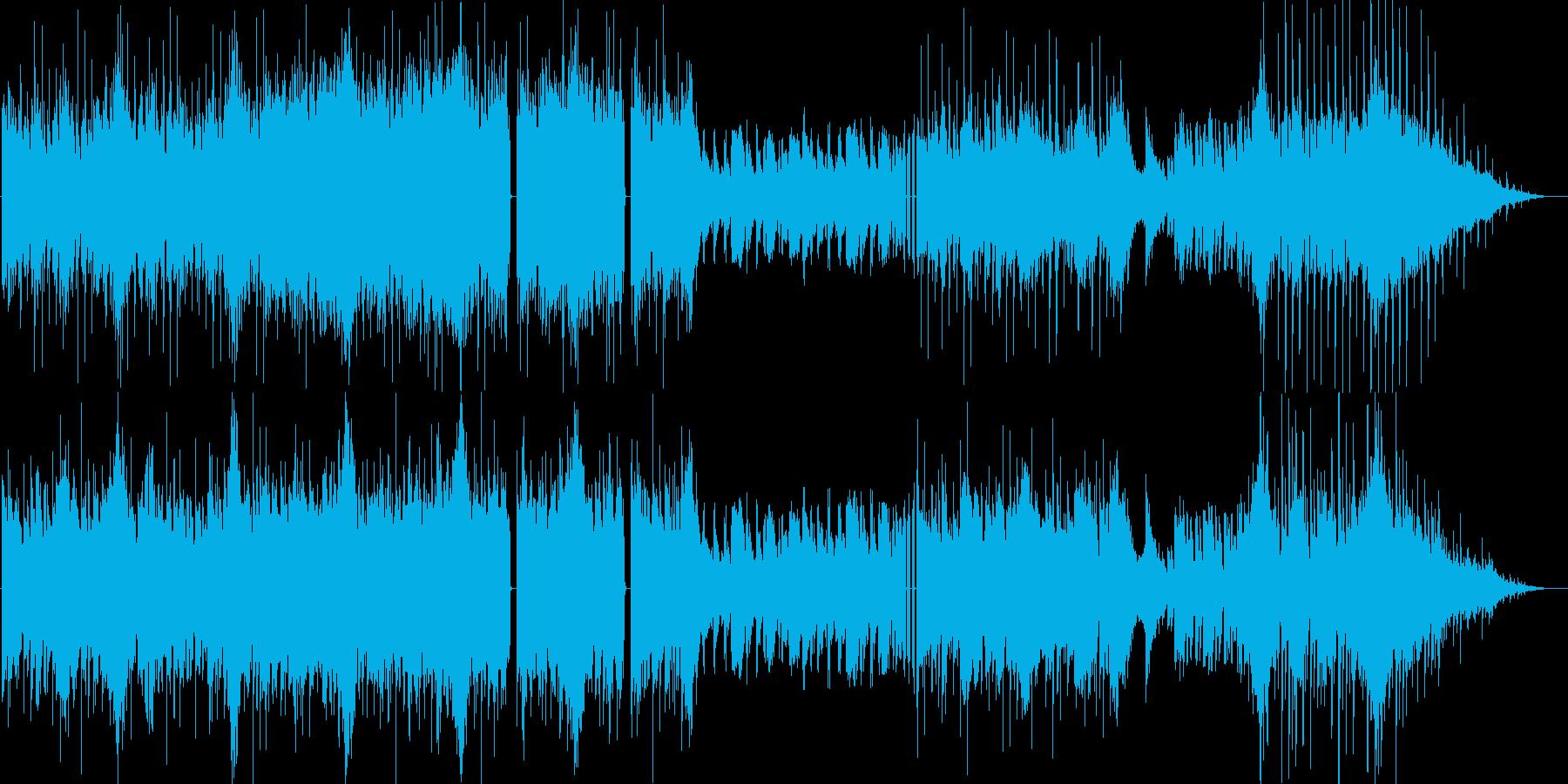 リズム系メインの炎属性ボス曲。ループ有の再生済みの波形
