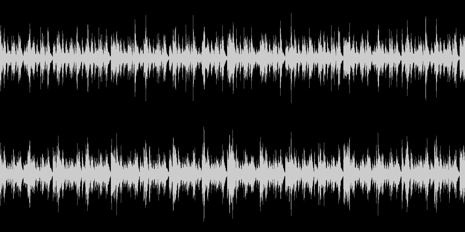 ほのぼの軽いループBGMの未再生の波形
