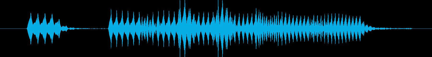 パラララッ。 アップ音。の再生済みの波形