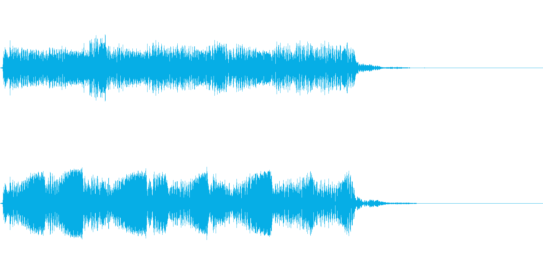 Guitarジングル8/BADBOYの再生済みの波形