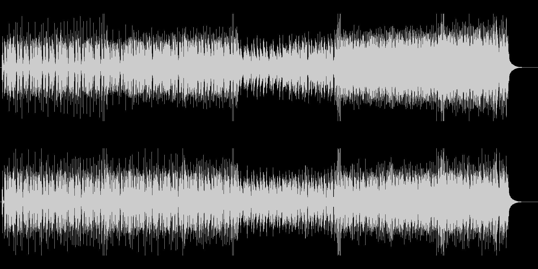 ジングルベルのシャッフルテクノ カラオケの未再生の波形