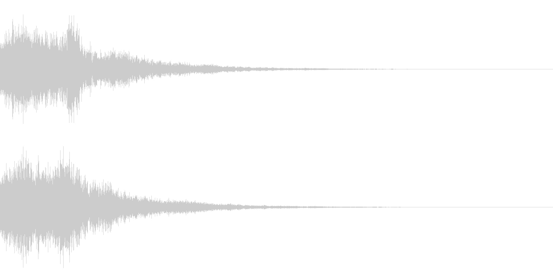 和風シャキーン(テロップ,オリンピック)の未再生の波形
