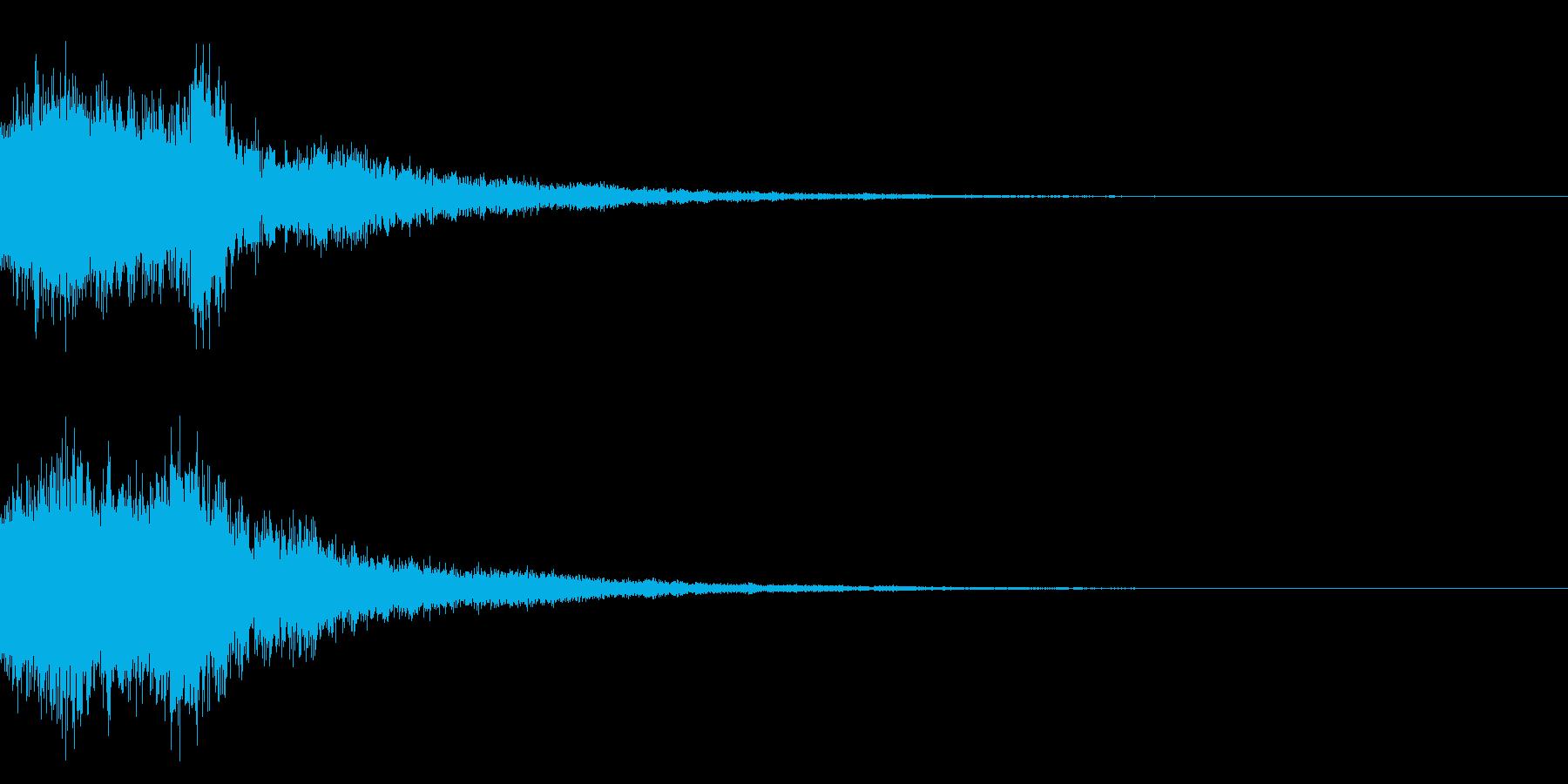 和風シャキーン(テロップ,オリンピック)の再生済みの波形