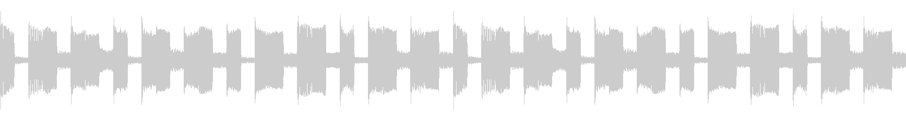 ARP シンセシーケンス 1 音楽制作用の未再生の波形