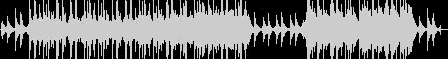 ビート感のあるアンビエンテック系ポップスの未再生の波形