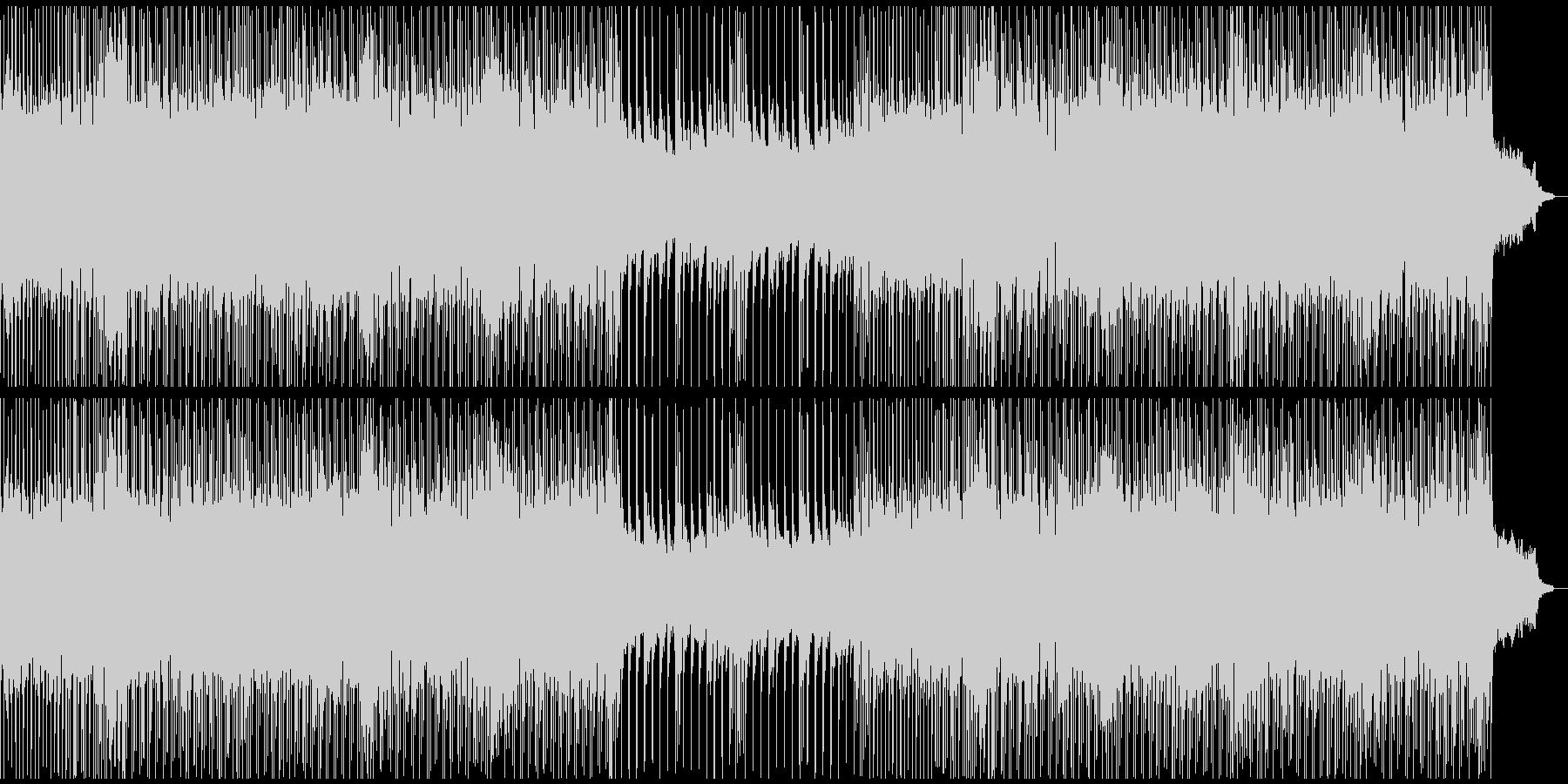 運動会/チップチューン/ゲームBGMの未再生の波形